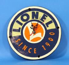 Lionel Since 1900 Ceramic Battery Wall Clock #7-11125U