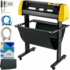 28 Vinyl Cutterplotter Sign Cutting Machine Withsoftware 3 Blades Lcd Screen