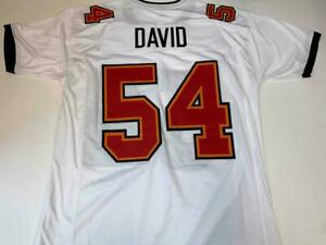 Lavonte David Jersey Custom Unsigned Stitched White Tampa Bay Jersey Size XL