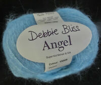 (39,80 €/100g):25 g Debbie Bliss ANGEL, Seidenmohair, Fb. 15009 türkis # 3669