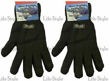 Unisex Men's Gents Warm Winter Thinsulate Lined Thermal Insulated Knitted Gloves
