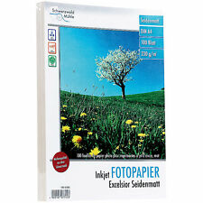 """Fotopapier Dina4: 100 Bl. Fotopapier """"Excelsior matt"""" 230g/m² A4"""