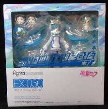 figma EX-030 Snow Miku 2016 Snow Owl Ver figure Good Smile Hatsune Miku PVC