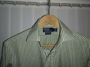 """Mens Ralph Lauren Regent Custom fit Shirt 15.5"""" collar vgc button cuffs"""