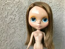 Neo Blythe doll Takara Prima Dolly Ginger Face plate replaced Us seller