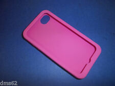 NEW SOFT PINK CELL PHONE CASE FITS APPLE  I4 87503 FREE SHIPPING