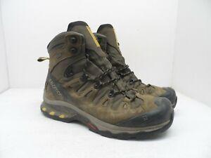 Salomon Mens QUEST 4D 3 GTX Hiking Trail Boot Wren/BungeeCord/GreenSulphur 10.5M