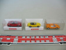 H771-0, 5# 3x Wiking ho, 230, MB C 111, 188 Mazda MX 5, 189 ferrari 348 Neuw + embalaje original