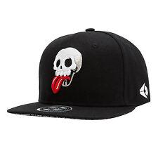 WuKe Embroidery Snapback, Baseball Hat Flat Brim Hip Hop Caps Skull N3T2