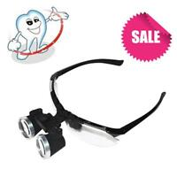 Luxury Dentist Black Dental Surgical Medical Binocular Loupes 2.5X 320 Black
