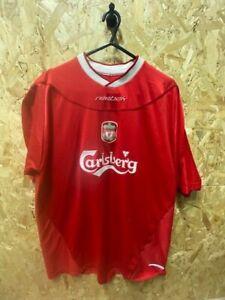 Liverpool Reebok 2002/04 Home Football Shirt Sleeve Size Medium