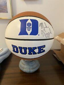 Mike Krzyzewski Autographed Signed Duke Blue Devils Logo Basketball Authentic