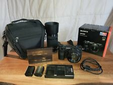 Sony A6400 Black Camo With 2 Lenses And Kit