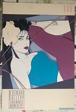 """Patrick Nagel """"D. Genaro Gallery Santa Monica"""" NC9 1986  Original Serigraph"""