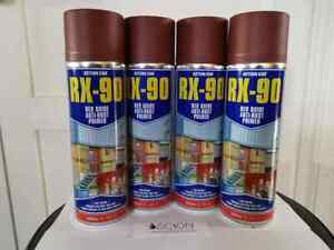 Action Can RX 90 Red Oxide Anti Rust Primer Spray 500ml RAL 3009 *Choose Qty*