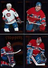 1995/96 Score Black Ice Insert MONTREAL CANADIENS Team Set Of 14 Hockey Cards