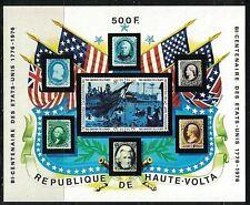 HAUTE-VOLTA:1976 SC#C358 S/S MNH American Bicentennial