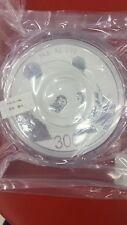 One Sheet (2 Pieces) of China 2018 Silver 1 Kilo Panda Coins