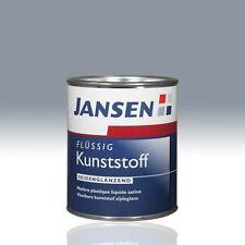 Jansen Flüssig Kunststoff silbergrau 7001 0,75l Flüssigkunststoff