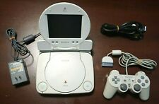 "Playstation 1 PSone Combo console + 5"" LCD Japan PS1 SCPH-140 System US Seller"