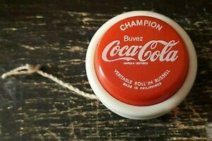 Yoyo COCA-COLA veritable Roll'in Russell objet publicitaire publicité Soda