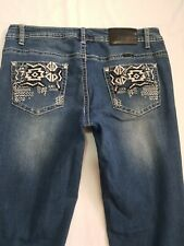 Womens Blue Denim Outback Jeans Size 12