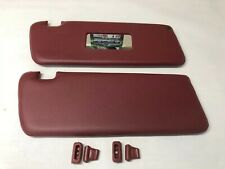 Burgundy Colored Replacement Sun Visors Fits Mercedes W107