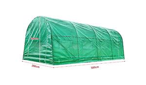 Large Greenhouse Polytunnel Windows 5 x2x2m Powder Coated Frame Garden Patio Use