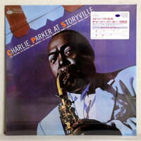 CHARLIE PARKER AT STORYVILLE - JAPAN BLUE NOTE LP BNJ-71098 Shrink Sticker NM