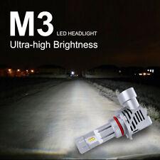 HOT HB3 9005 9145 H10 9140 LED Headlight Kit 6000LM 6500K Bulbs Whith High Beam