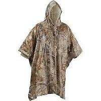 Remington Adult PVC Rain Poncho, Camouflage - One size fits most