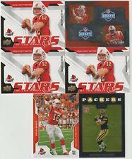 (6) card Brian Brohm mixed rookie card lot, Louisville Cardinals star