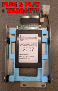 Megatouch FORCE 2007 SSD Flash Memory Replace Hard Drive for Radion/Evo/Elite