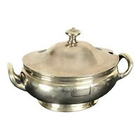 Railroad RR 1915s Queen & Crescent Route? Tureen Silver Plate Wallace 0533