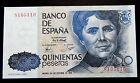 019-INDALO- Banco de España, Madrid. 500 Pesetas Octubre 1979. Sin serie. SC/UNC