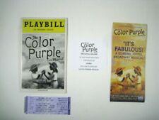 Театральная афиша The Color Purple