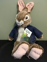 Peter Rabbit soft plush Stuffed Animal Jacket DanDee Collector's Choice