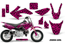 Honda Graphic Kit AMR Racing Bike Decal CRF 50 Decal MX Parts 2014-2017 ZEBRA