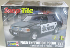 Revell 1/25 '97 Ford Police Expedition Plastic Model Kit SNAP-TITE 85-1972