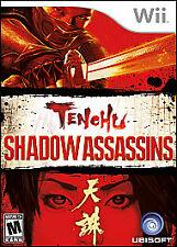 Tenchu: Shadow Assassins (Nintendo Wii, 2009) CIB Complete in Box