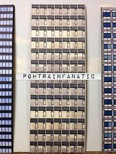 *O Scale Scratch Built Commercial #4 Skyscraper Building Front/Flat MTH Lionel*