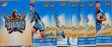 2012 NRL CHAMPIONS GOLD COAST TITANS COMMON TEAM SET 12 CARDS SELECT
