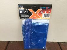 SUNFLEX Nylon Mesh Table Tennis Ping Pong Net Replacement Spare Blue 176x14.5 cm