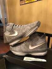 Nike Air Zoom Kobe Prelude 2 II Grey Silver Gold Sz 11.5 New DS Never Worn