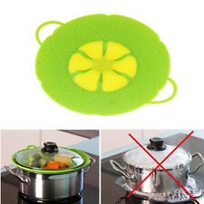 Silicone Boil Lid Multi Function Cooking Tools Kitchen Cookware Parts Pan Cover