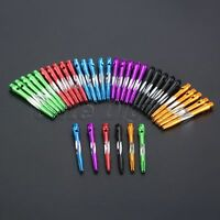 6pcs Darts Shaft Aluminium Alloy Thread Dart Stems 45mm Length 6color Choose
