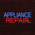 """BRAND NEW """"APPLIANCE REPAIR"""" 32x13X1 INCH LED FLEX INDOOR SIGN 31350 photo"""