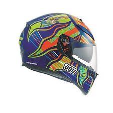 Gloss Full Face AGV Motorcycle Helmets
