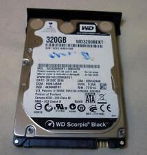 """320GB Western Digital Scorpio Black WD3200BEKT-00KA9T0 2.5"""" SATA Hard Drive"""