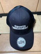 Sports Illustrated NEW ERA Baseball Hat Cap NWOT  STICKERS EXCELLENT NAVY MESH